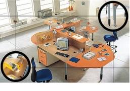 Arredo Ufficio Legno Massello : Mobili arredo ufficio